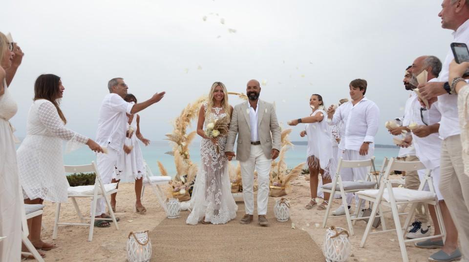Matrimonio Religioso In Spiaggia : Baleari wedding planner formentera ibiza